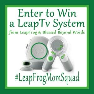 #Sponsored: LeapTV – Educational Fun to Get Your Kids Moving! #Giveaway #LeapFrogMomSquad
