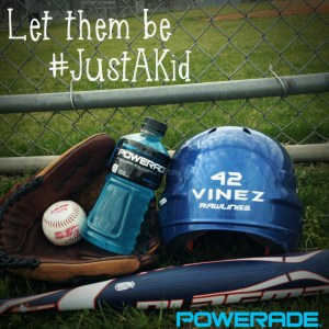 #Spon: Let Them Be #JustAKid with @POWERADE & @Walmart