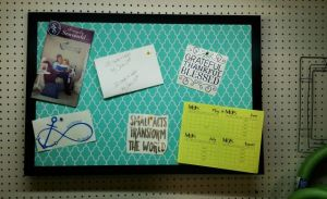#Spon: PinPix #BulletinBoard Keeps Me Organized and Looking Great