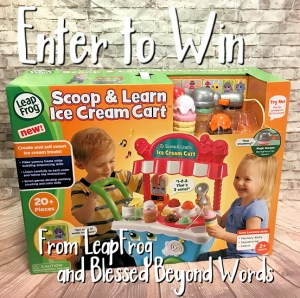#Sponsored: @LeapFrog Scoop & Learn Ice Cream Cart™ #Review #Giveaway