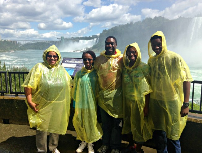 bullard family at niagara falls summer 2015