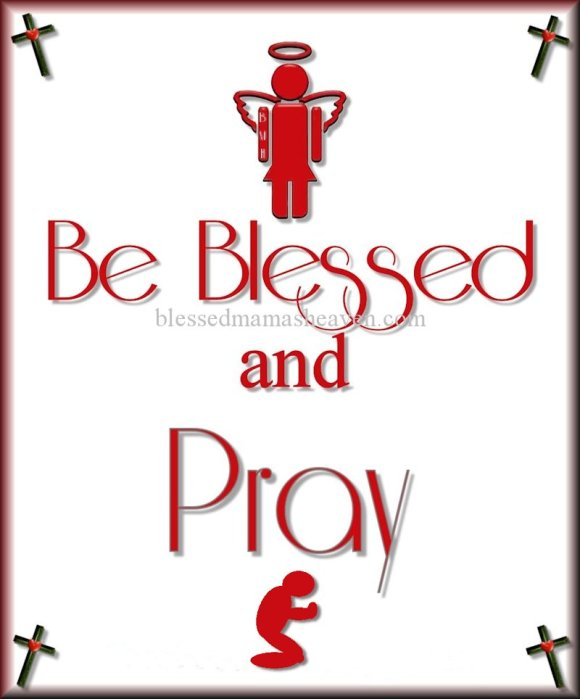Be Blessed & PRAY ღ