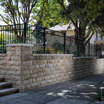 Elegant Retaining Wall
