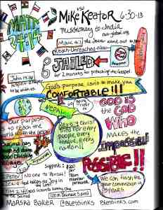 Sermon Sketch Notes: Matthew 24:14 – Reaching the Unreached.