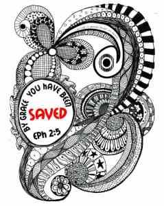 Doodle Devo Friday Eph 2:5