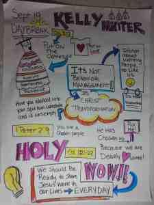 Daybreak Sermon Sketchnotes