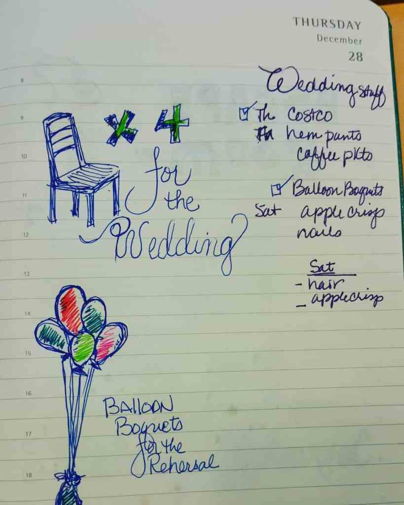 drawingmyday Shopping for the wedding So excited