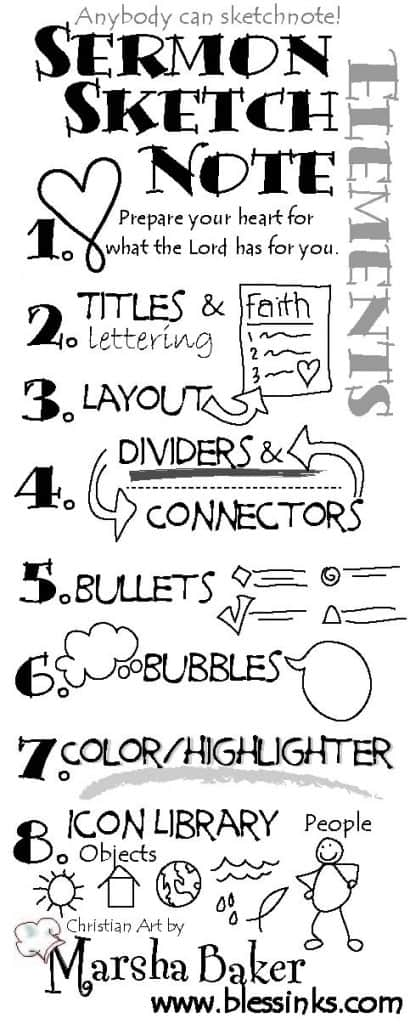 Sketchnote Elements