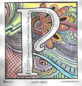 Doodle Devo Friday  – P for Praise and Printable