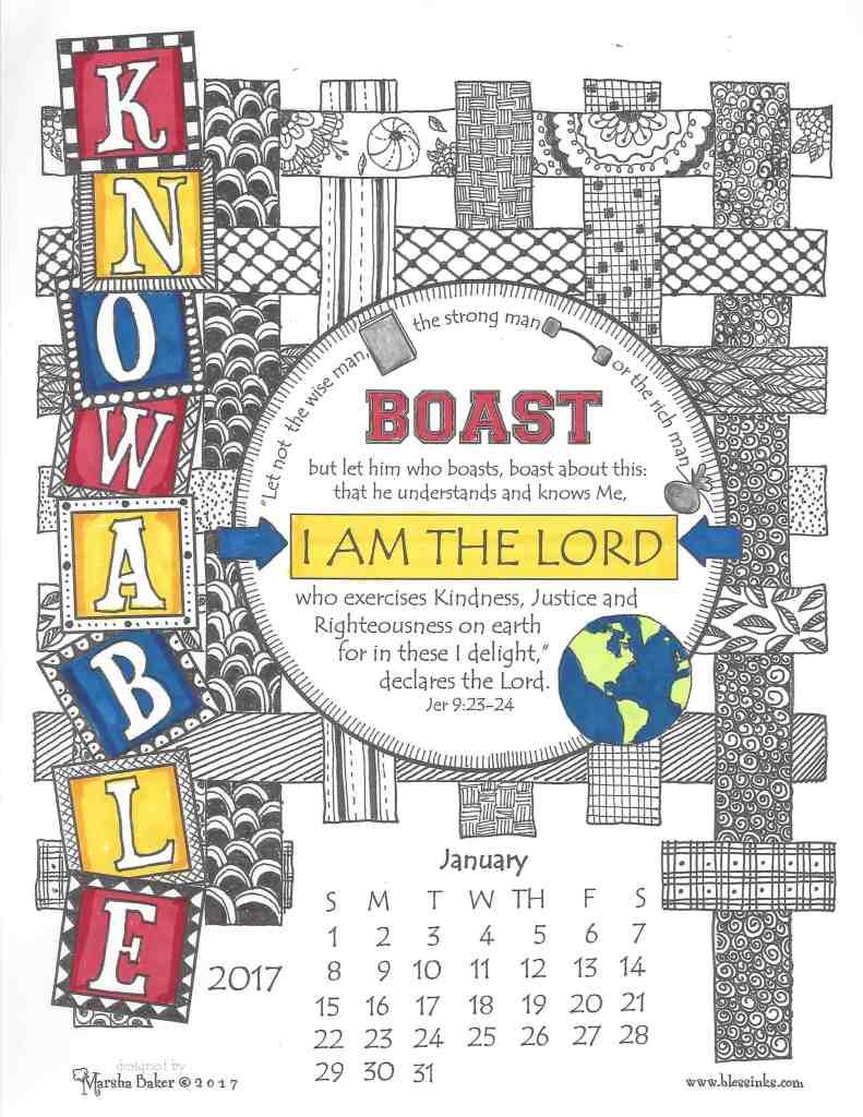 Calendar Doodle Tutorial