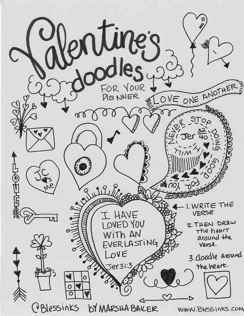 Valentines Doodles