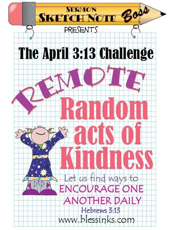 Remote Random Acts of Kindness