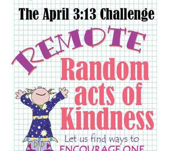 April Sketchnote Challenge: REMOTE Random Acts of Kindness