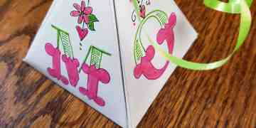 DIY Mothers Day gift box