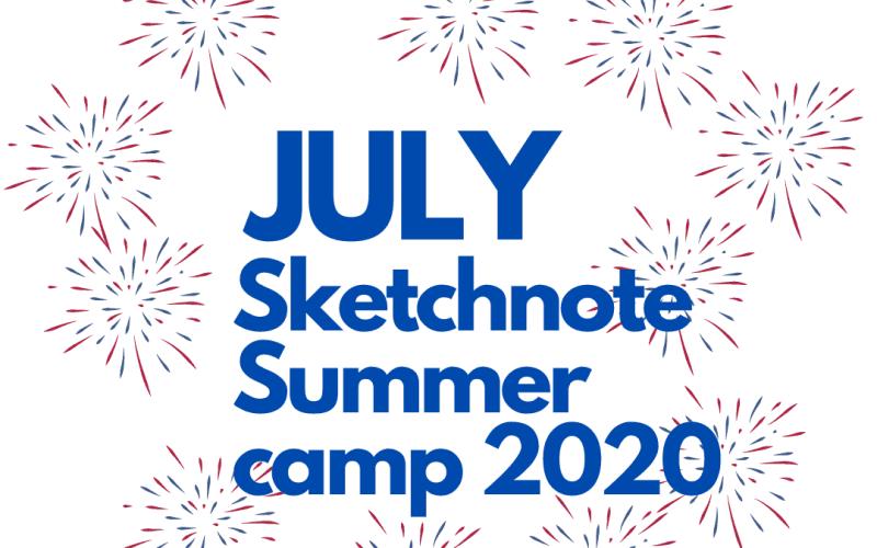 July Sketchnote Summer Camp