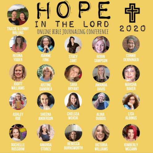 Hope in the Lord – Free Online Bible Journaling Conference