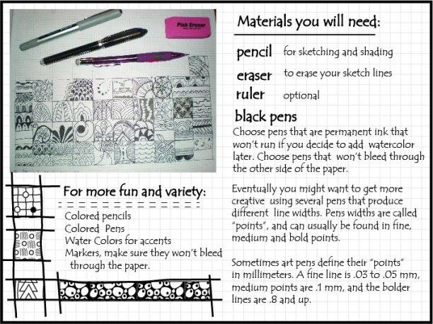 doodle materials