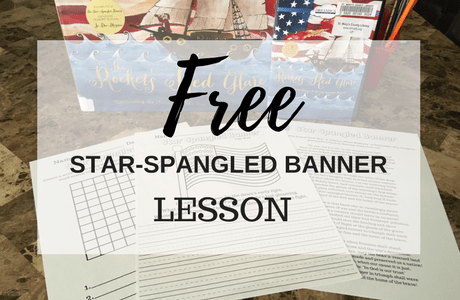 picture relating to Words to the Star Spangled Banner Printable named Train your youngsters more than the Star Spangled Banner for Absolutely free