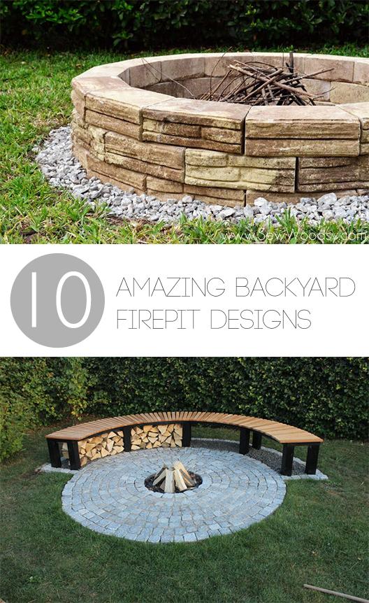 10 Amazing Backyard DIY Firepit Designs ~ Bless My Weeds on Backyard Fire Pit Ideas Diy id=60776