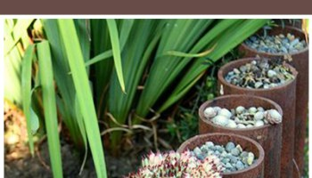 Creative Garden Edging Ideas 25 garden edges and borders Rusted Metal Outdoor Diy Projects And Landscape Ideas