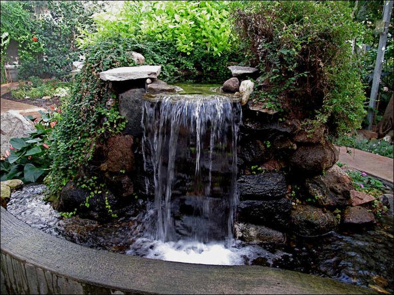 DIY Garden Waterfalls ~ Bless My Weeds on Waterfall Ideas For Garden id=66684