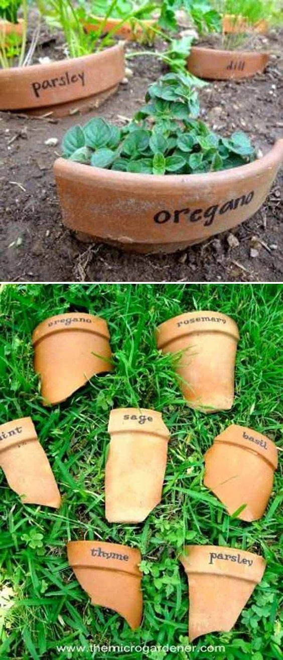 10 DIY Plant Marker Projects For Spring