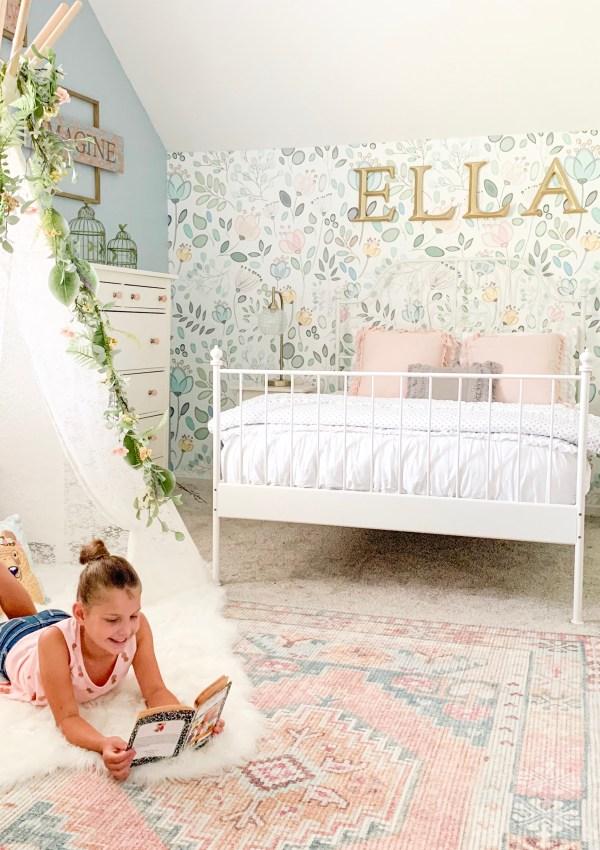 Vintage Style Girl's Room Rugs