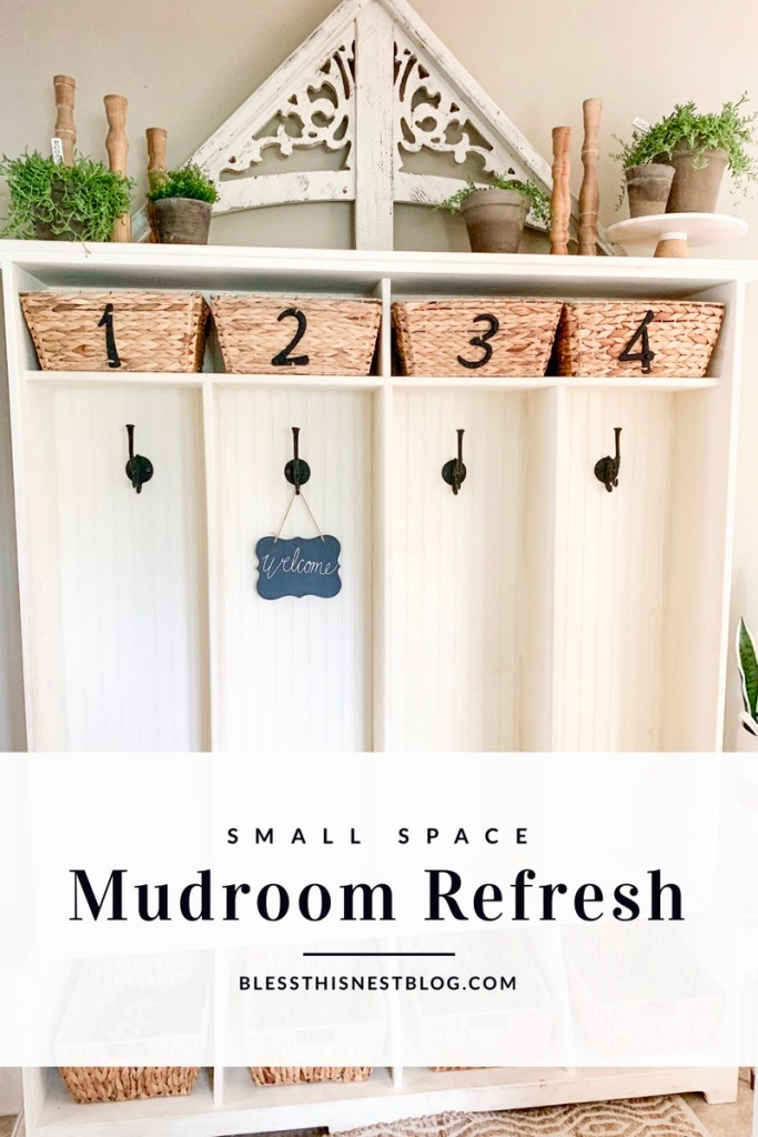 small mudroom ideas blog banner