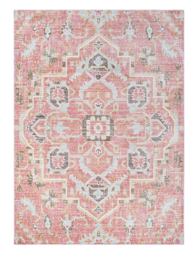 pale pink area rug