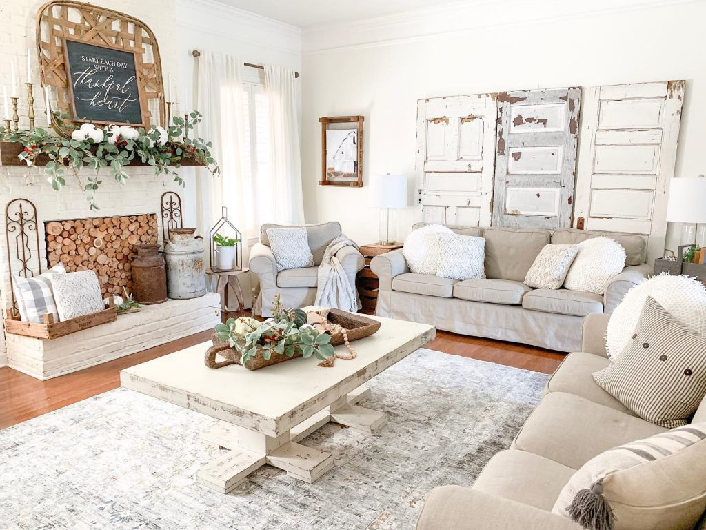 living room couches and coffee table