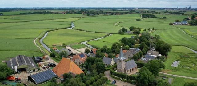 Frieslands hoogste staat in Blessum (artikel LC)