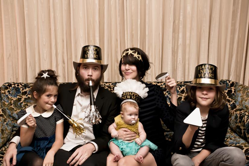 family happy new year