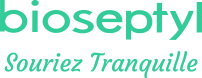 logo de la marque Bioseptyl (souriez tranquille)