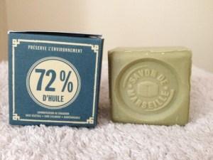 cube de savon de Marseille à l'huile d'Olive, par Marius Fabre