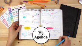 Entre Agenda et organiseur pour planifier sa vie, par My Agenda