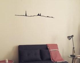 Ma ligne d'horizon Paris de TheLine