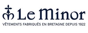 """Logo de la marque """"Le Minor"""" (vêtements fabriqués en Bretagne depuis 1922)"""