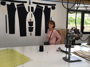 Visite à l'atelier Atelier Tuffery pour choisir un jean