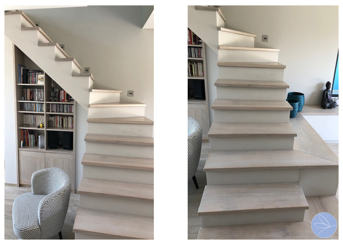 Photo escalier contemporain sur-mesure