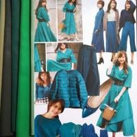 ディープオータムの似合う青緑色