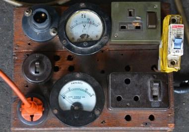 Vieux tableau électrique