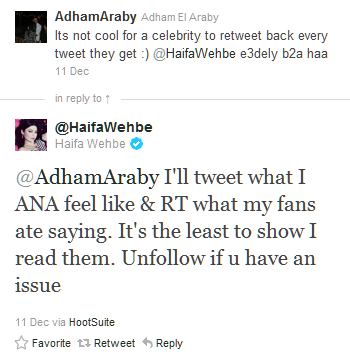 You DON'T mess with Haifa Wehbe... (3/6)