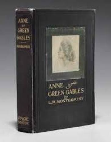 Anne of Green Gables early book cover