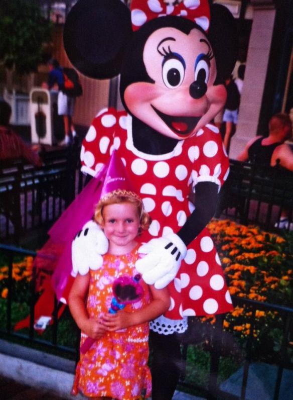 Disneyland 14 years ago. I remember a great mother-daughter day.