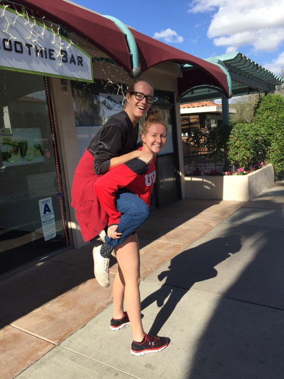 brother sister piggyback ride