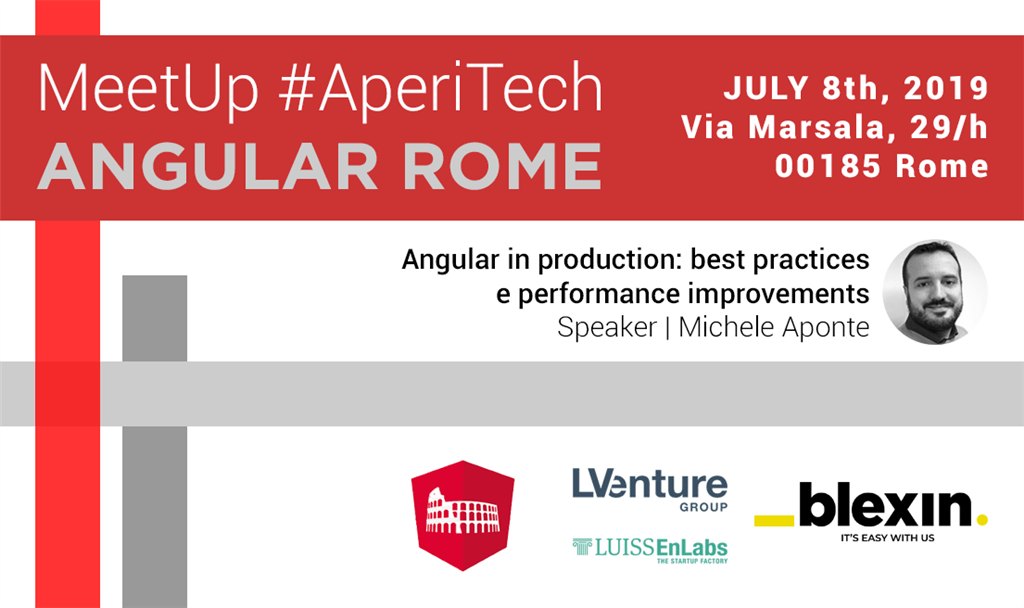 Angular Rome Meetup AperiTech