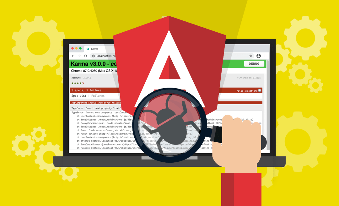 Angular Testing you don't scare me