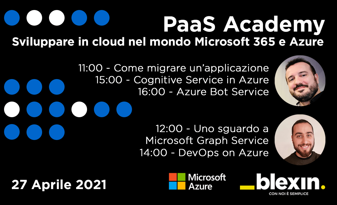 PaaS Academy: sviluppare in cloud