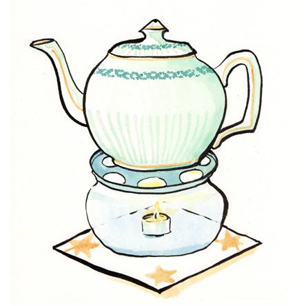 Teezeit beim Qi Gong