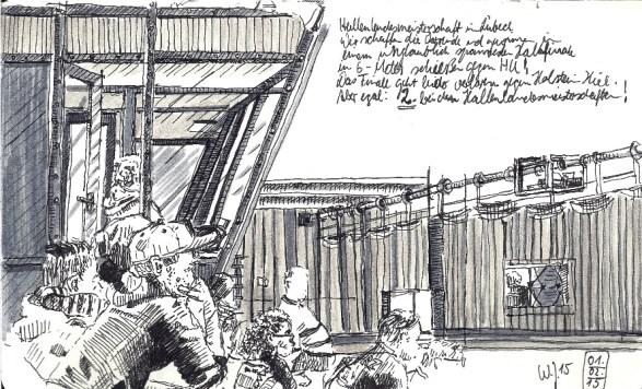 Hallenlandesmeisterschaft in Lübeck